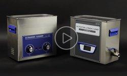 Revista en video de baños de ultrasonido Jeken PS-30 y Jeken TUC-65
