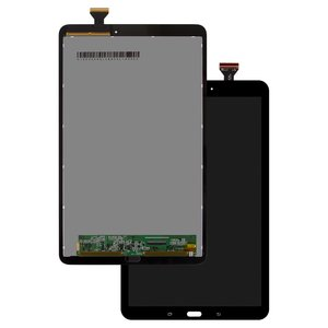 LCD compatible with Samsung T560 Galaxy Tab E 9.6, T561 Galaxy Tab E, (black, with touchscreen)