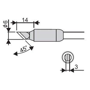 Soldering Iron Tip Goot RX-85HRT-6K