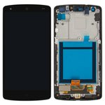 LCD for LG D820 Nexus 5 Google, D821 Nexus 5 Google Cell Phones, (black, with touchscreen, with front panel, Original (PRC))