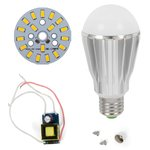 LED Light Bulb DIY Kit SQ-Q17 9 W (warm white, E27)