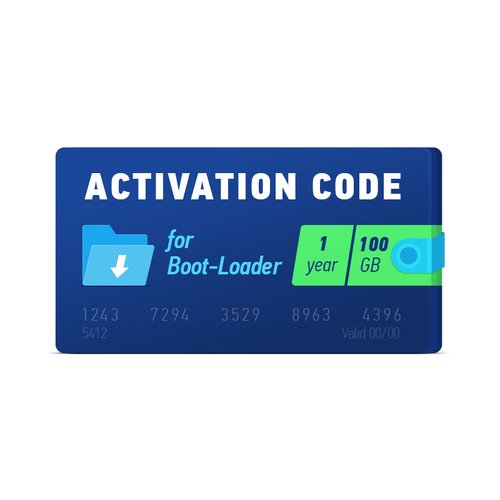 Boot-Loader 2.0 Activation Code (1 year, 100 GB)
