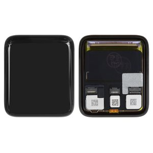 LCD for Apple Watch 3 42mm Smart Watch, (black, with touchscreen)