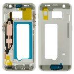 Parte media de carcasa Samsung G930F Galaxy S7, blanco