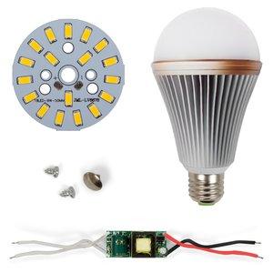 Комплект для сборки LED-лампы SQ-Q24 5730 E27 9 Вт – теплый белый