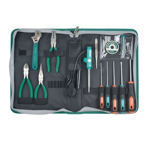 Набор инструментов Pro'sKit PK-2086B для электромонтажа