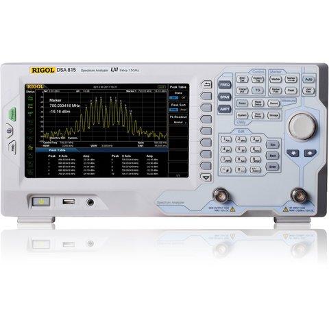 Аналізатор спектру RIGOL DSA815