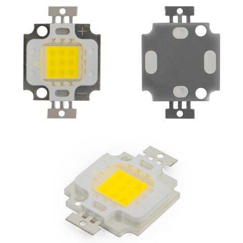 COB LED модуль 10 Вт холодний білий, 1000 лм, 900 мА, 9 11 В