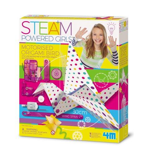STEAM-набор для девчонок 4M Птичка-технооригами