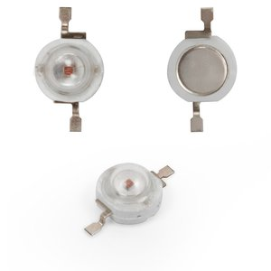 LED 1 W (red, 50 lm, 620 nm, 350 mA, 3.2-3.4 V)