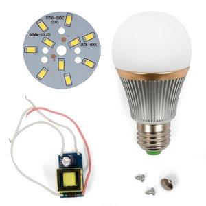 Комплект для сборки светодиодной лампы SQ-Q22 5730 5 Вт (холодный белый, E27), диммируемый